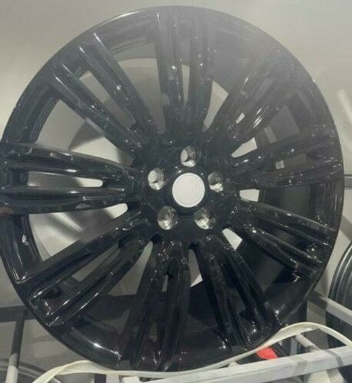 """22""""black GLOSS alloy wheels fits range rover sport discovery vogue"""