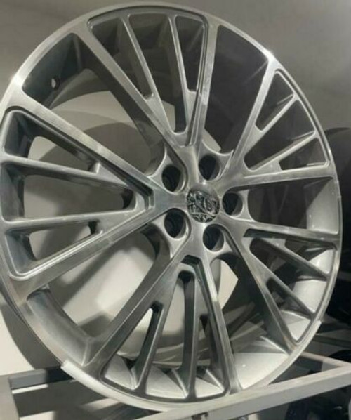 """22"""" grey pol alloy wheels for range rover sport discovery vogue"""