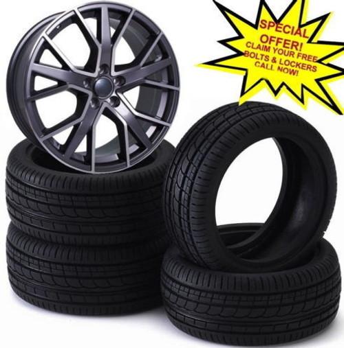 "21""rs6 d new gm alloy wheel for audi q7/vw tourag /porsche cayenne q3 q5"