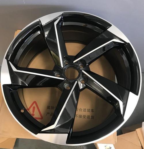 """21""""r8 rotor bp alloy wheels for audi a5/a6/s5/ a7/q5/q3/vw passat"""