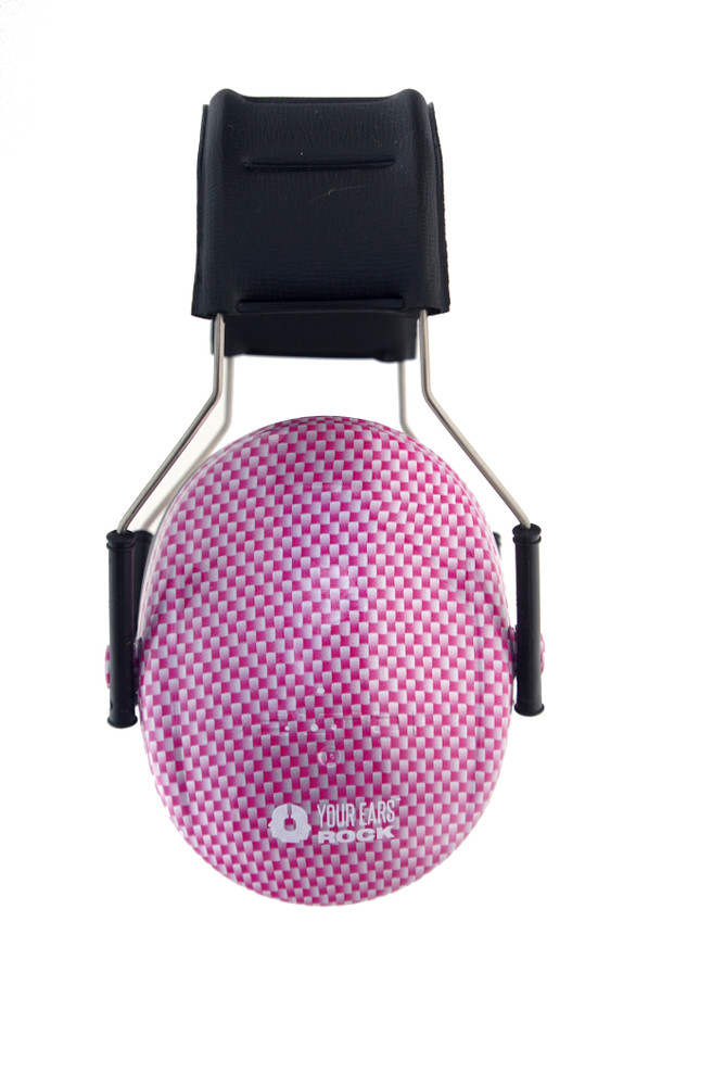 CARBON FIBER Pink 3M™ Hearing Protection Earmuffs