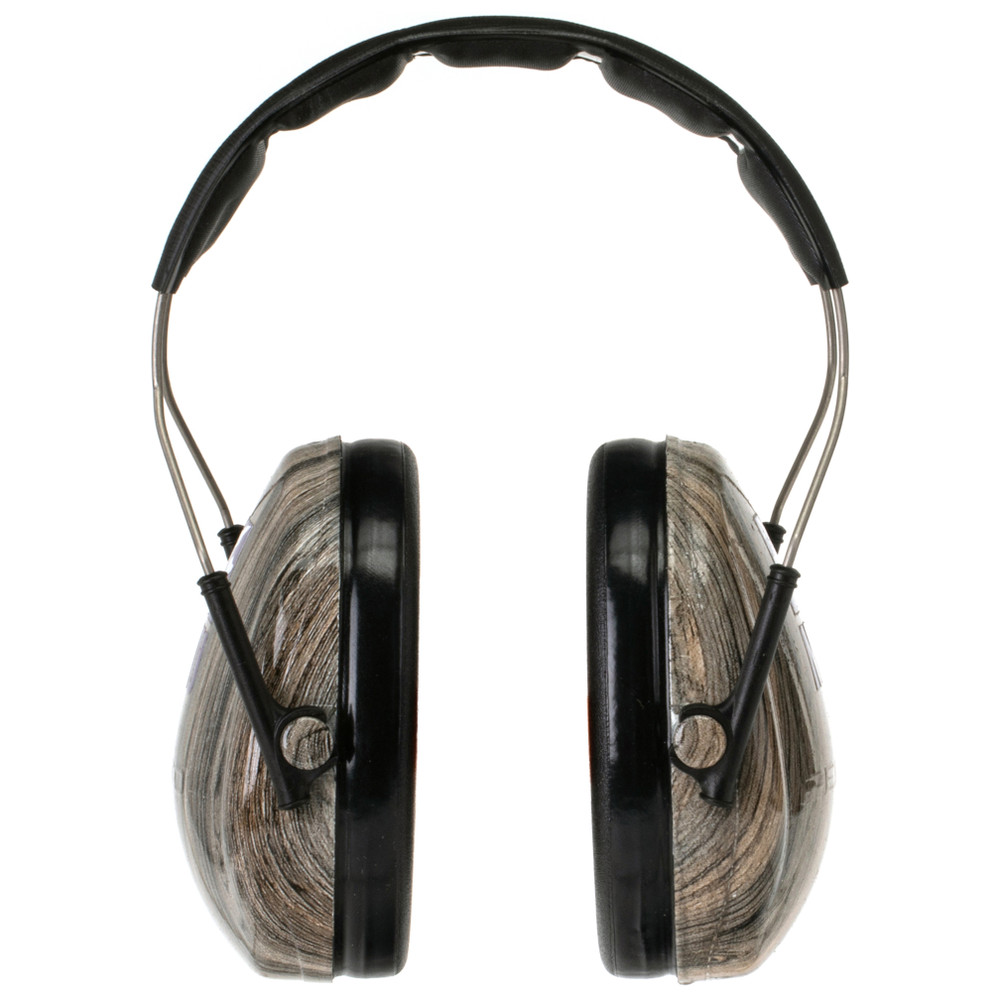 Officially Licensed New York University Woodgrain Hearing Protection Earmuffs