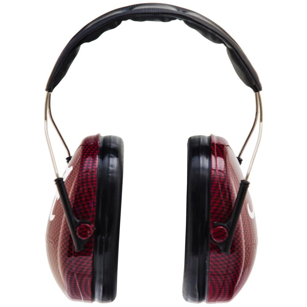 Officially Licensed University of Alabama Crimson Tide Crimson Carbon Fiber 3M™ Hearing Protection Earmuffs