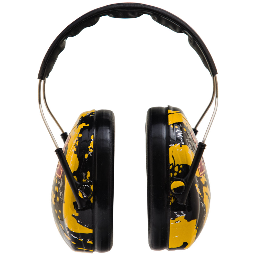 Officially Licensed University of Minnesota Gophers Gold Splash 3M™ Hearing Protection Earmuffs