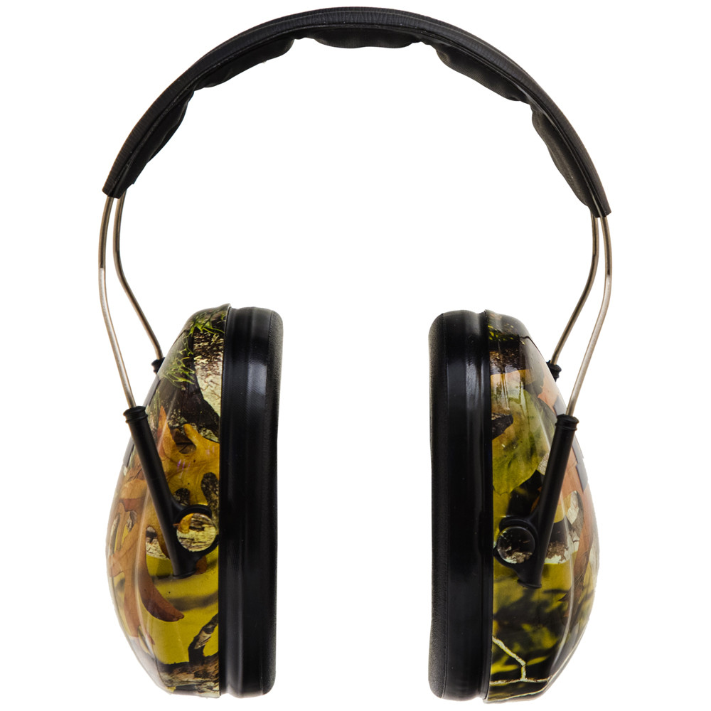 Officially Licensed University of Michigan Wolverines Maize Camo 3M™ Hearing Protection Earmuffs