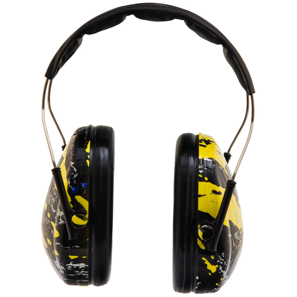 Officially Licensed University of Michigan Wolverines Maize Splash 3M™ Hearing Protection Earmuffs