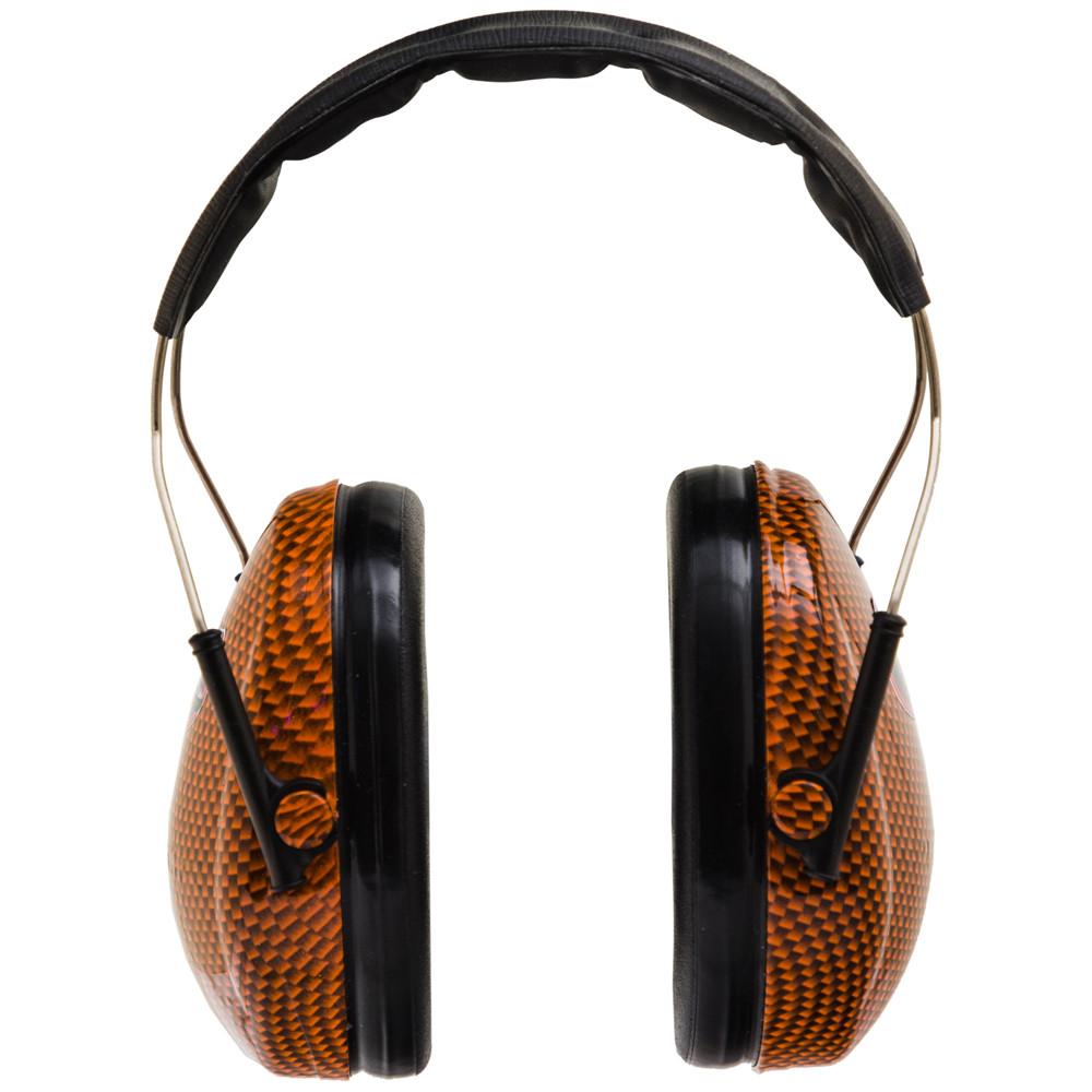 Officially Licensed University of Florida Gators Orange Carbon Fiber 3M™ Hearing Protection Earmuffs