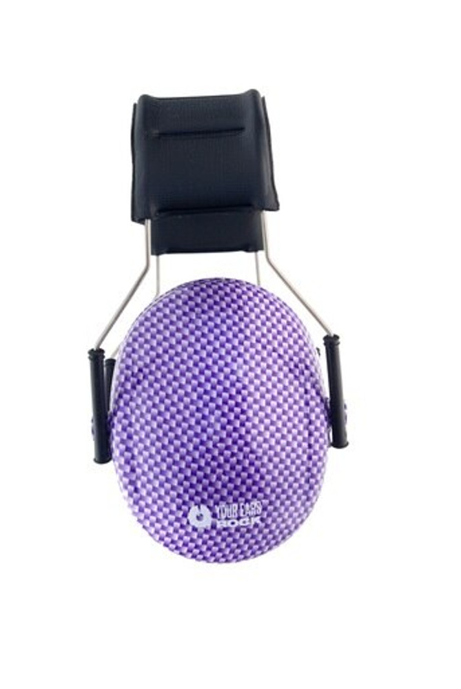 CARBON FIBER Purple 3M™ Hearing Protection Earmuffs
