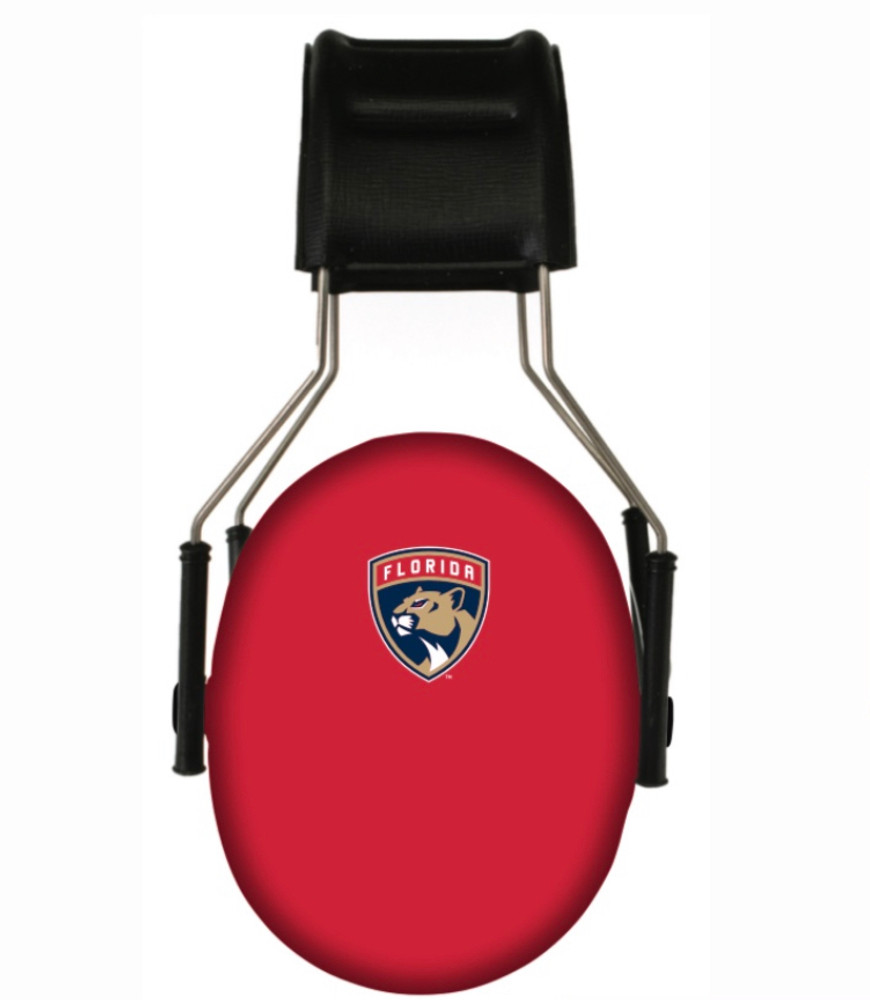 Officially Licensed Florida Panthers 3M Hearing Protection Earmuffs