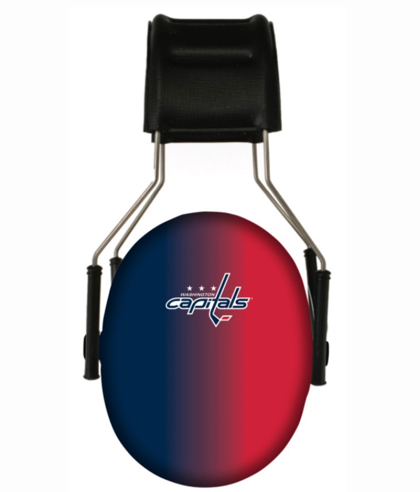 Officially Licensed Washington Capitals Gradient 3M Hearing Protection Earmuffs