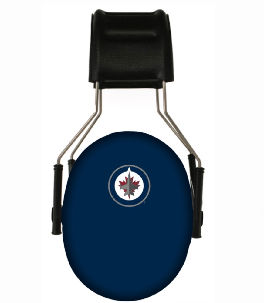 Officially Licensed Winnipeg Jets 3M Hearing Protection Earmuffs