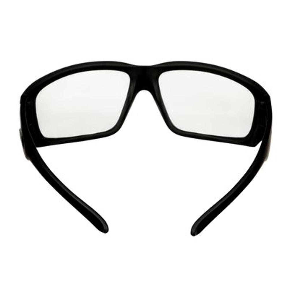 3M™ Maxim™ Elite 1000 Series, Black Frame, Scotchgard™ Anti-Fog Coating, Clear AF-AS Lens