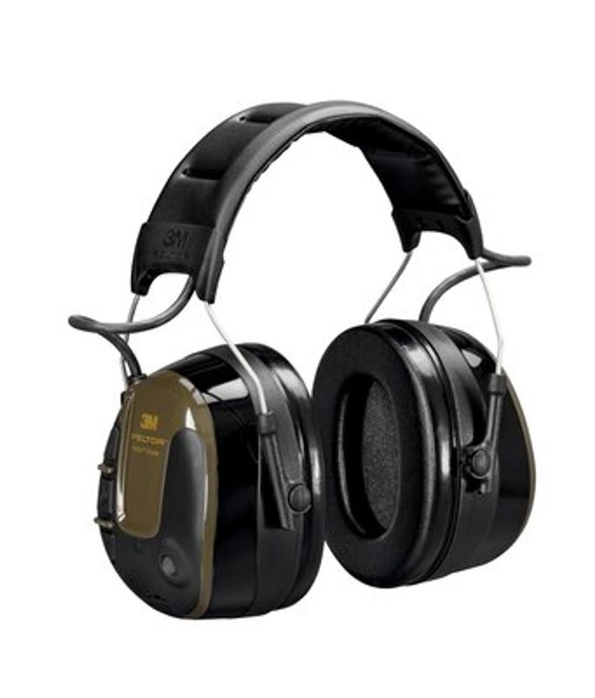 3M™ PELTOR™ ProTac Shooter Headset, Green, Headband