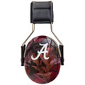 Officially Licensed University of Alabama Crimson Tide Crimson Camo 3M™ Hearing Protection Earmuffs