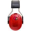 Officially Licensed University of Louisville Cardinals Red 3M™ Hearing Protection Earmuffs