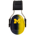 Officially Licensed University of Michigan Wolverines Blue and Maize Gradient 3M™ Hearing Protection Earmuffs