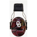 Officially Licensed University of Oklahoma Sooners Crimson Camo 3M™ Hearing Protection Earmuffs