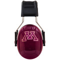 Officially Licensed University of Minnesota Gophers Maroon 3M™ Hearing Protection Earmuffs