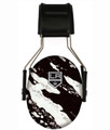 Officially Licensed Los Angeles Kings 3M Splash Hearing Protection Earmuffs
