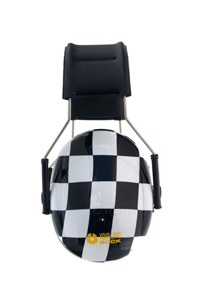 CHECKERED FLAG 3M™ Hearing Protection Earmuffs