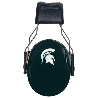 Officially Licensed Michigan State University Spartans Green 3M™ Hearing Protection Earmuffs