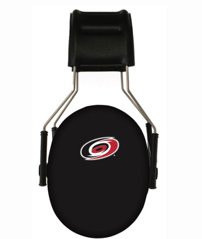 Officially Licensed Carolina Hurricanes Black Hearing Protection Earmuffs