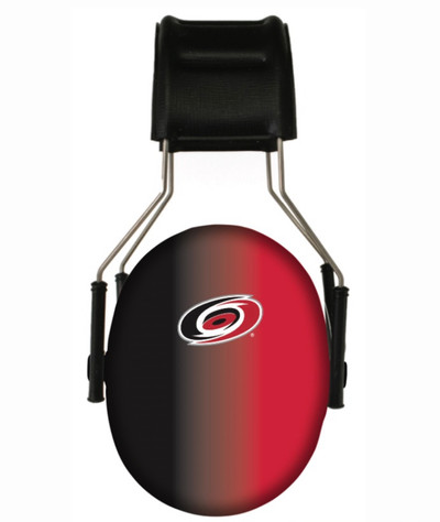 Officially Licensed Carolina Hurricanes Gradient Hearing Protection Earmuffs