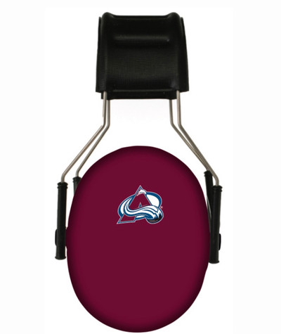 Officially Licensed Colorado Avalanche 3M Hearing Protection Earmuff