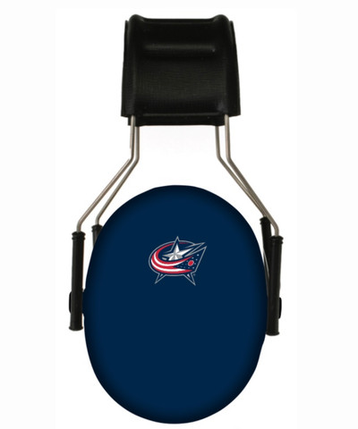 Officially Licensed Columbus Blue Jackets 3M Hearing Protection Earmuffs