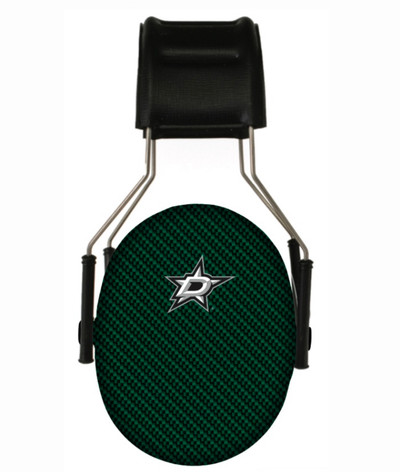 Officially Licensed Dallas Stars Carbon Fiber 3M Hearing Protection Earmuffs