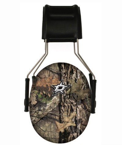 Officially Licensed Dallas Stars Mossy Oak Camouflage 3M Hearing Protection Earmuffs