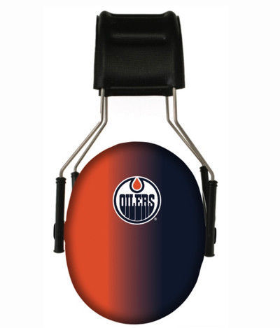 Officially Licensed Edmonton Oilers Gradient 3M Hearing Protection Earmuffs