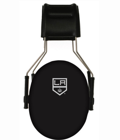 Officially Licensed Los Angeles Kings 3M Hearing Protection Earmuffs