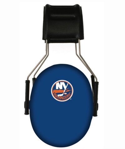 Officially Licensed New York Islanders 3M Hearing Protection Earmuffs