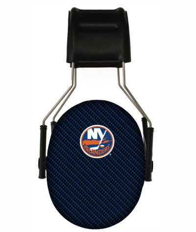 Officially Licensed New York Islanders Carbon Fiber 3M Hearing Protection Earmuffs