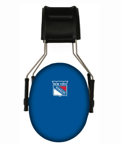 Officially Licensed New York Rangers 3M Hearing Protection Earmuffs