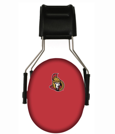 Officially Licensed Ottawa Senators 3M Hearing Protection Earmuffs