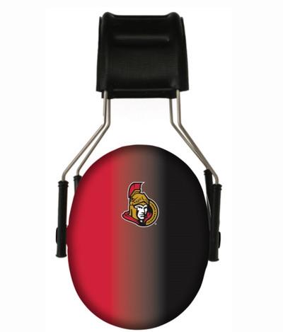 Officially Licensed Ottawa Senators Gradient 3M Hearing Protection Earmuffs