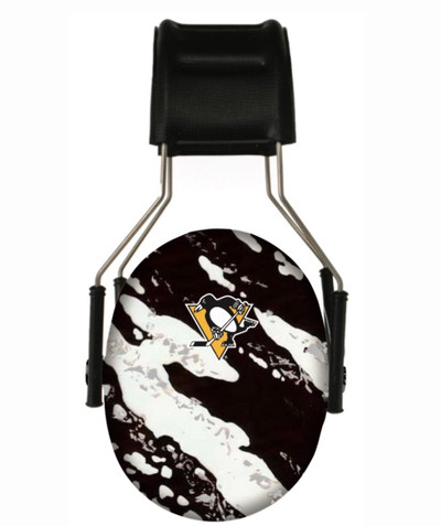 Officially Licensed Pittsburgh Penguins Splash 3M Hearing Protection Earmuffs