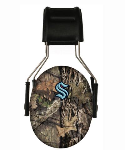 Officially Licensed Seattle Kraken Mossy Oak Camouflage 3M Hearing Protection Earmuffs
