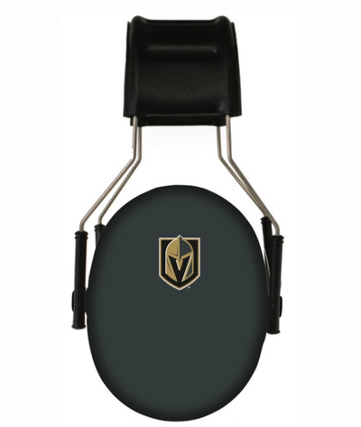 Officially Licensed Vegas Golden Knights 3M Hearing Protection Earmuffs