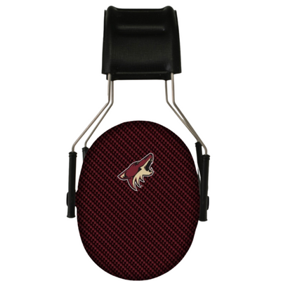 Officially Licensed Arizona Coyotes 3M Hearing Protection Earmuffs