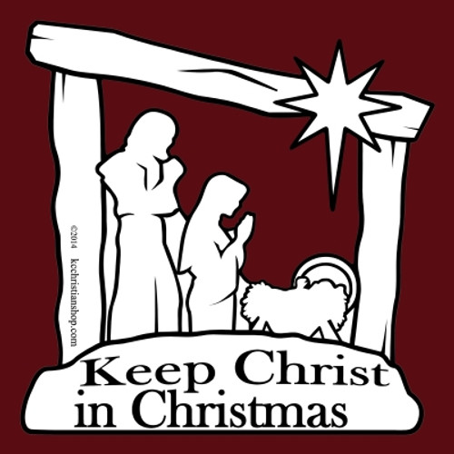 Celebrate the birth of Jesus Christ, and share the joy with the world. Sticks to any ferrous (iron-based) metal. Best on cars, SUVs, and trucks.