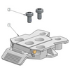 Ingenico Lane 3000/5000v2/7000/8000 MultiClip Drive-Thru Handle by SpacePole