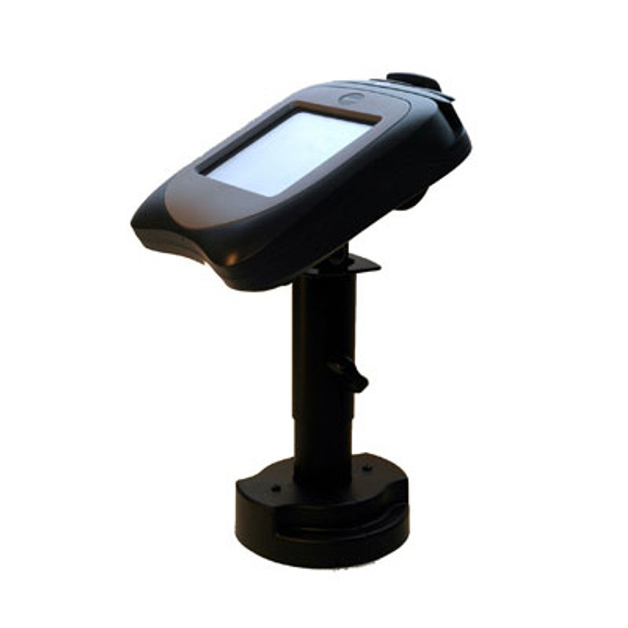 Hypercom L4250 Credit Card Stand Telescoping Pedestal by Swivel Stands