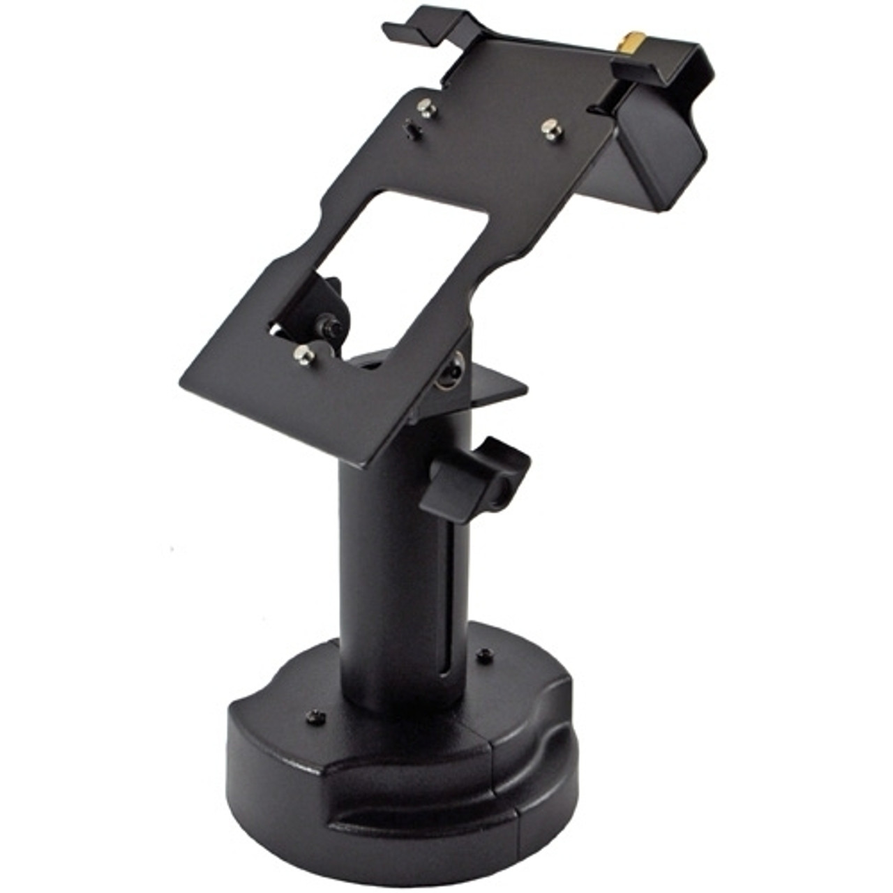 Verifone MX860 Credit Card Stand Locking Telescoping Pedestal by Swivel Stands