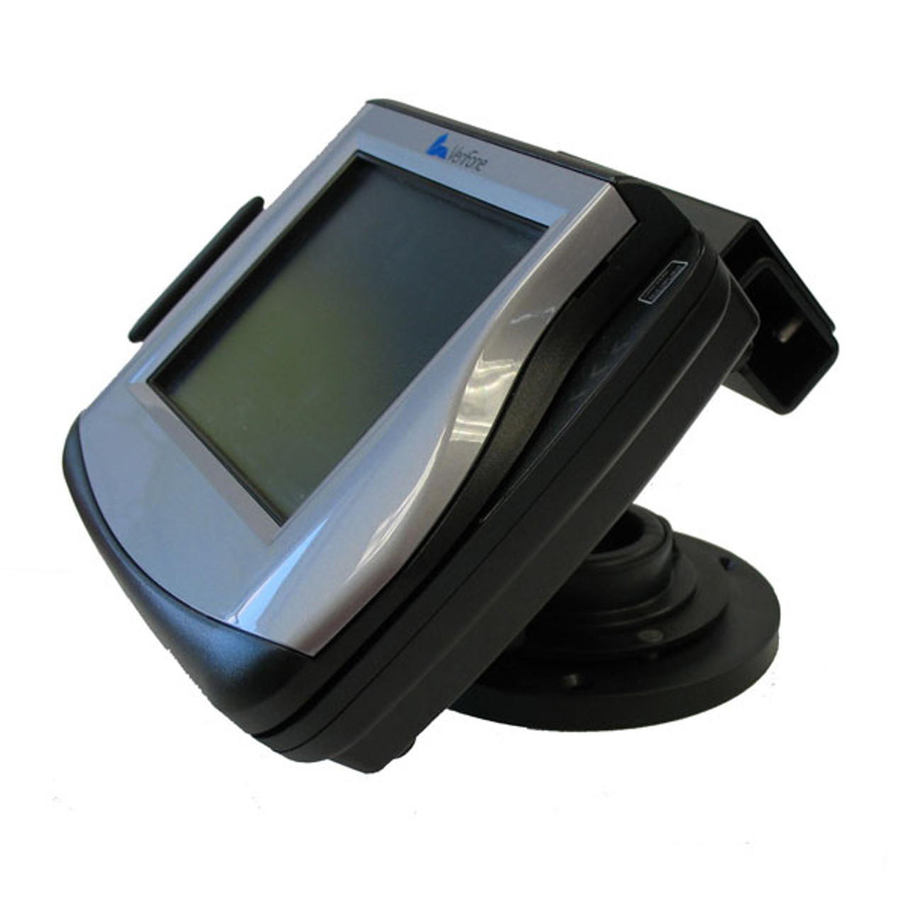 VeriFone MX880 Credit Card Stand Locking Low Profile by Swivel Stands