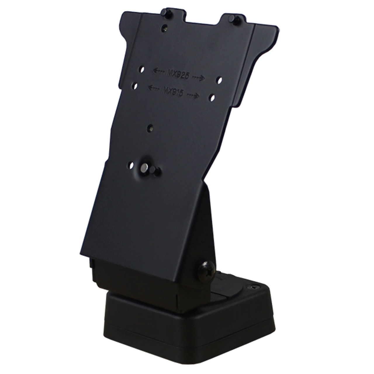 VeriFone MX925 Credit Card Stand Square Base by Swivel Stands