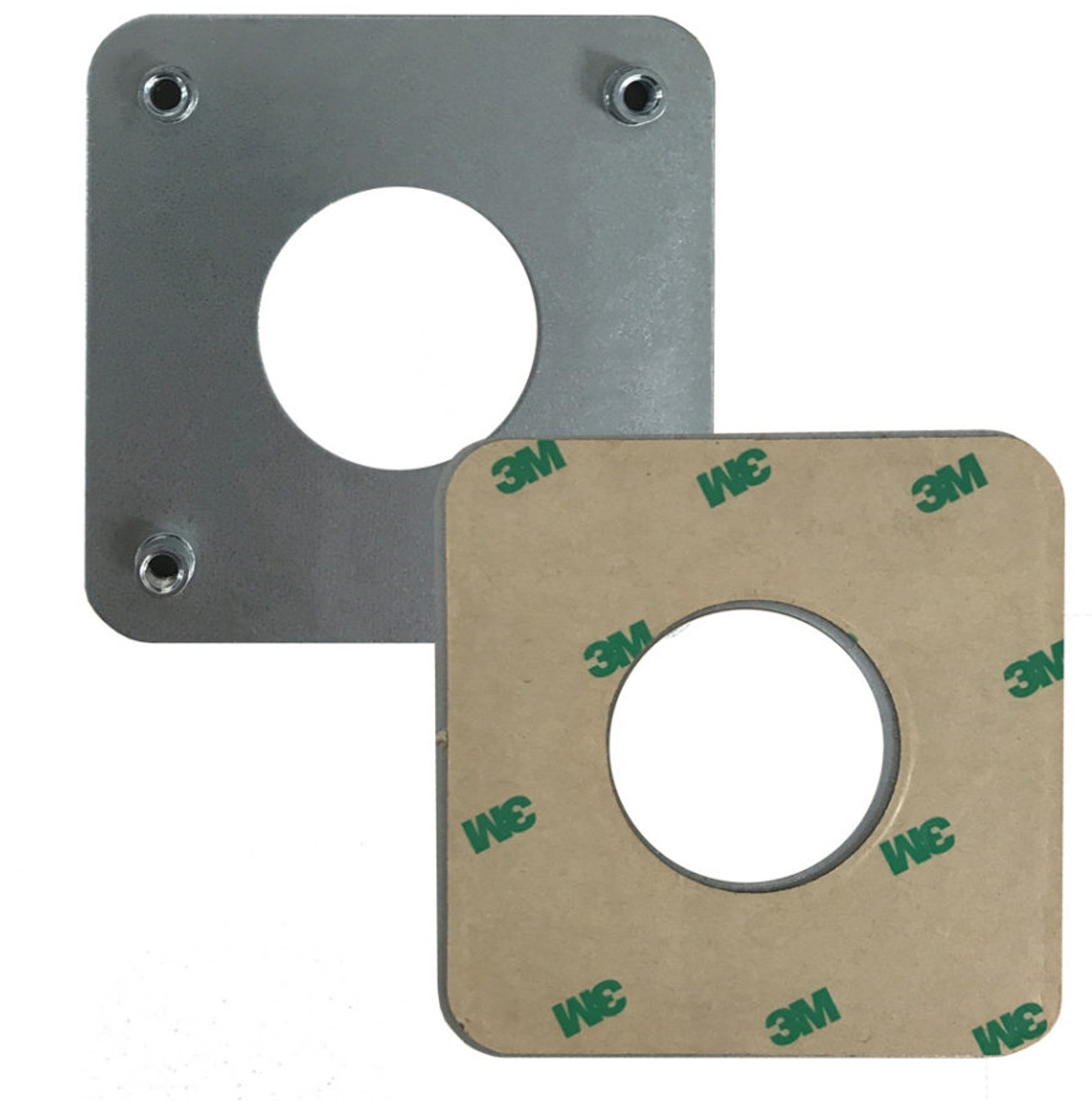 Open Hole Glue Pad System SQUARE STANDS by Swivel Stands