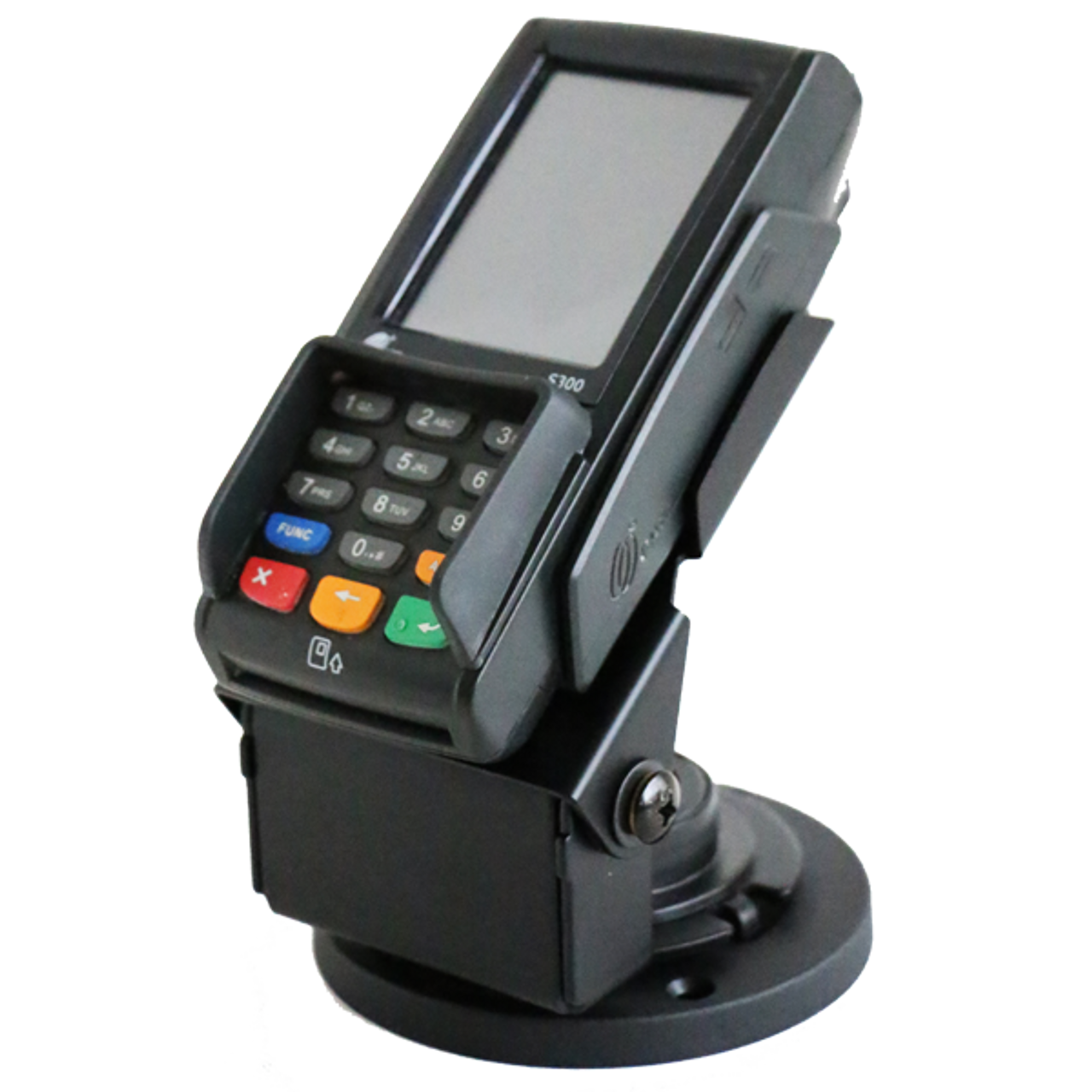 PAX S300 Credit Card Stand Low Profile by Swivel Stands
